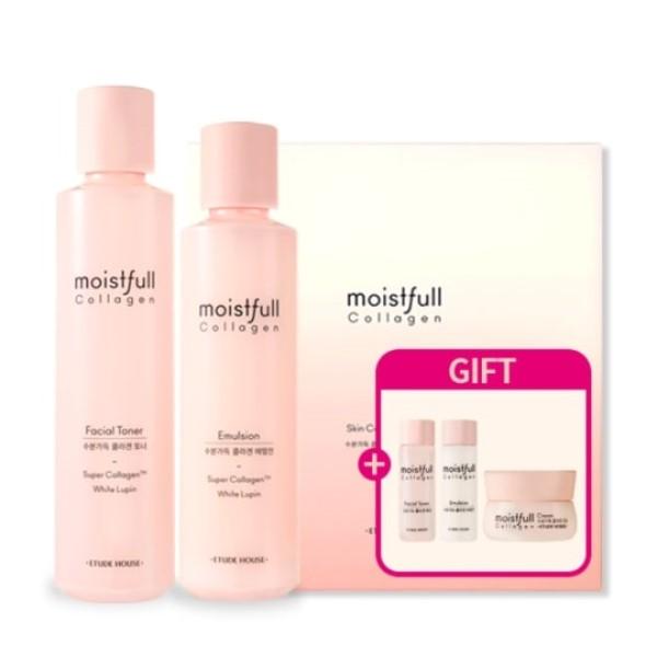 Moistfull Collagen Facial Toner & Emulsion Set